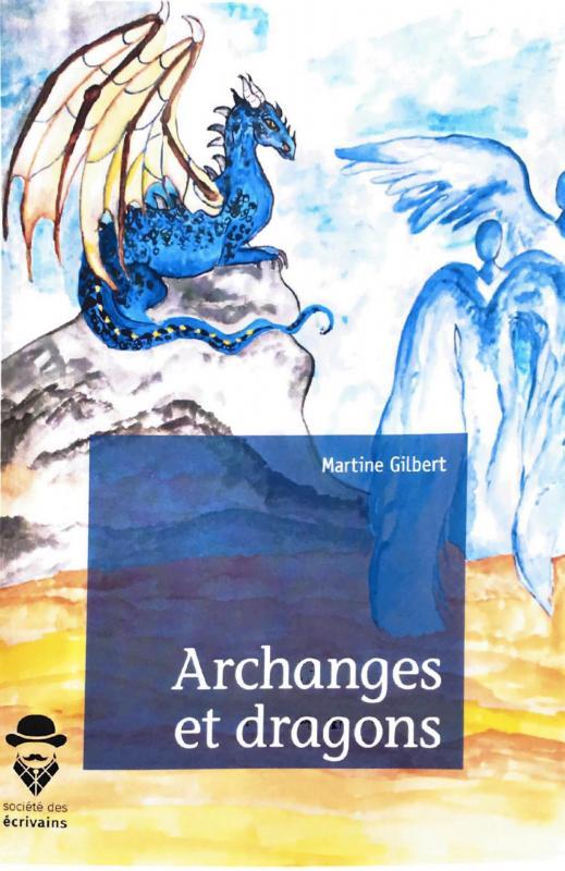 Couverture archange et dragons